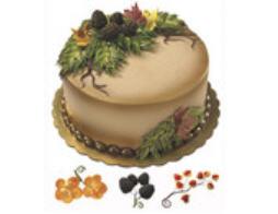 Cake Decoration Gum Paste Fall Flower Assortment