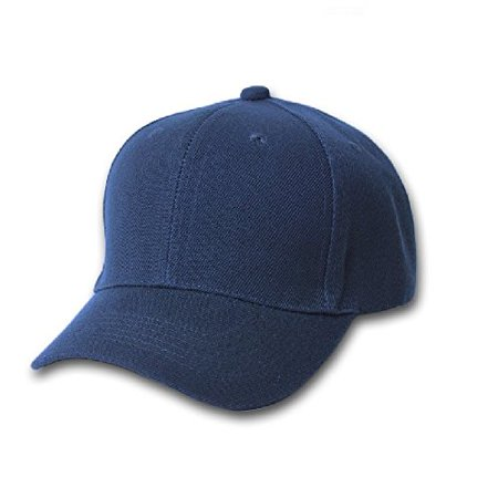 Plain Unisex Baseball Cap - Blank Hat with Solid Color   Adjustable for Men    Women - Max Comfort (24 Units 4f97ed5dc13b