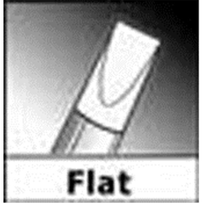 Art Supplies CS12400 Color Shaper Firm Flat Chisel No.0 by Art Supplies