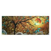 Metal Art Studio Apricot Moon Wall Art