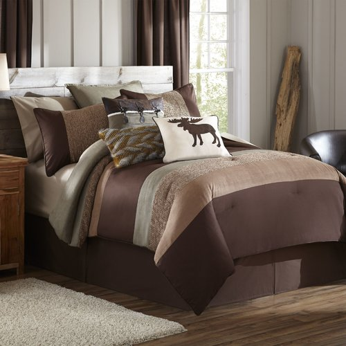 Mytex Home Fashions Stowe Creek 4 Piece Comforter Set