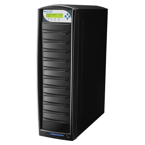 Vinpower 10 Target SharkNet Network Capable DVD CD Duplicator with 320GB HDD
