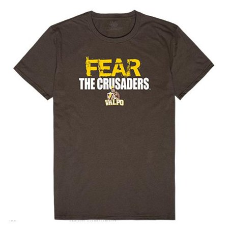 W Republic Apparel 518-154-313-04 Valparaiso University Fear Tee for Men, Brown - Extra Large - image 1 of 1