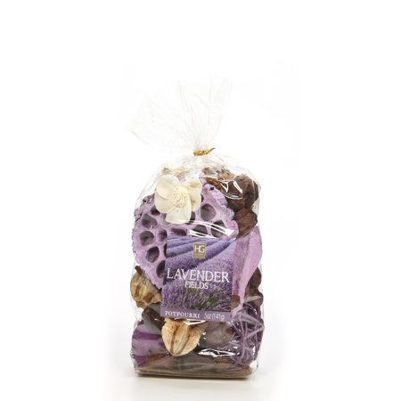 Hosley's Set of 4 Lavender Fields Chunky Potpourri - 5 oz each.   O4