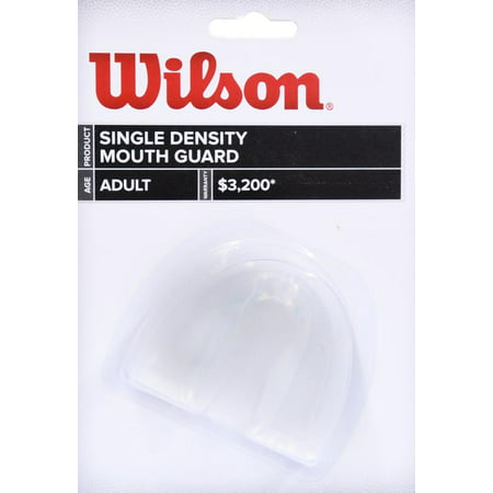 Wilson Mouth Guard, Clear, No Strap, Adult & Youth Size