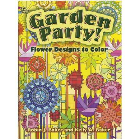 Dover Publications Garden Party Coloring Book