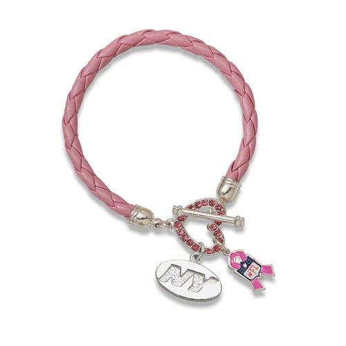 NFL - New York Jets Breast Cancer Awareness Bracelet