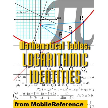Mathematical Tables: Logarithmic Identities (Mobi Study Guides) - eBook (Logarithmic Tables)