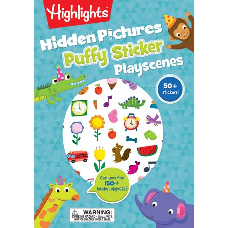 - Hidden Pictures® Puffy Sticker Playscenes