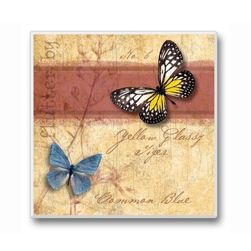 Flutter By Coasters 2 Butterflies Set of 6