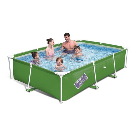 H2ogo My First Frame Pool Above Ground Swimming Pool 102 X 67 X 24 Green
