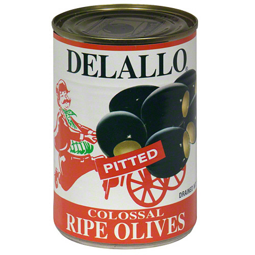 Delallo Colossal Pitted Olives