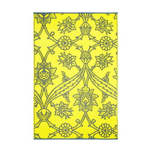 Slate Fuchsia Flowers Floor Mat