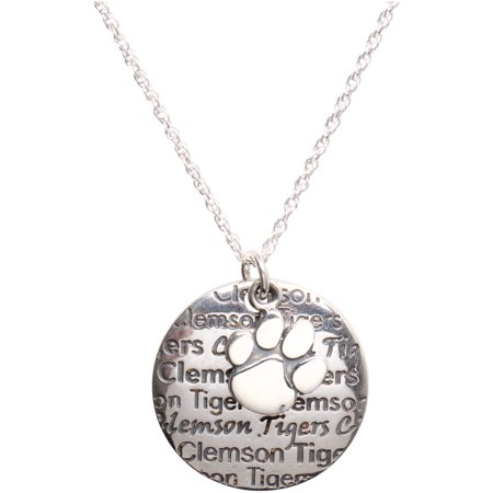 Clemson Tigers Jewelry - Clemson Tigers Dayna Designs Women's Infinity Charm Necklace - No Size