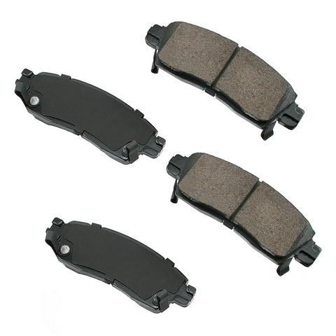 Akebono ASP1455 Performance Ultra Premium Ceramic Disc Brake Pad Kit