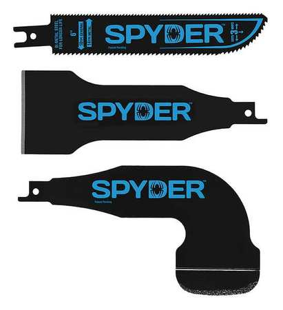 SPYDER Reciprocating Saw Kit,Bi-Metal 900305