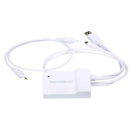 Mini DisplayPort 1.1 Video + S/PDIF (Toslink) Digital