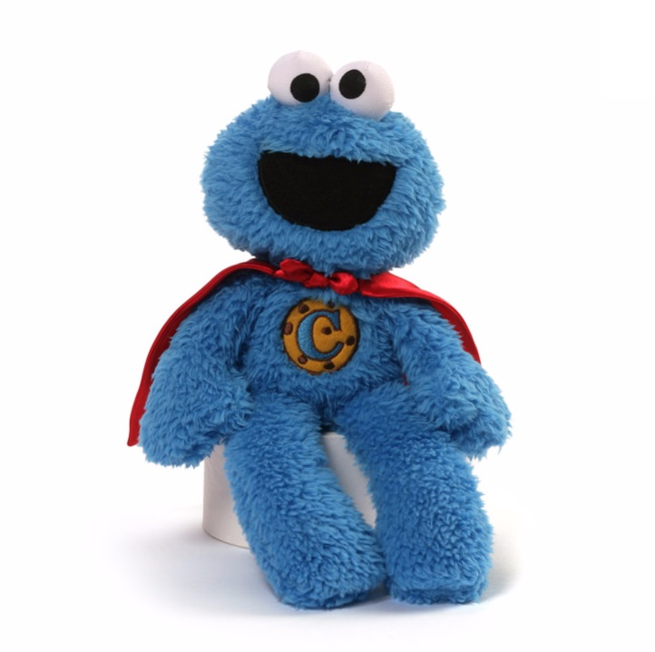 Gund Sesame Street Gund Sesame Street Cookie Monster Superhero Take Along Plush