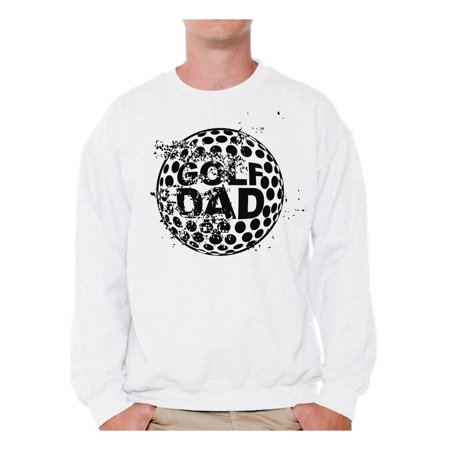 675f5940 Awkward Styles Men's Golf Dad Graphic Sweatshirt Tops Black Golfing Sport  Dad Golf Father's Day Gift
