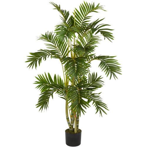 Nearly Natural Areca Palm Silk Tree, 4 ft.