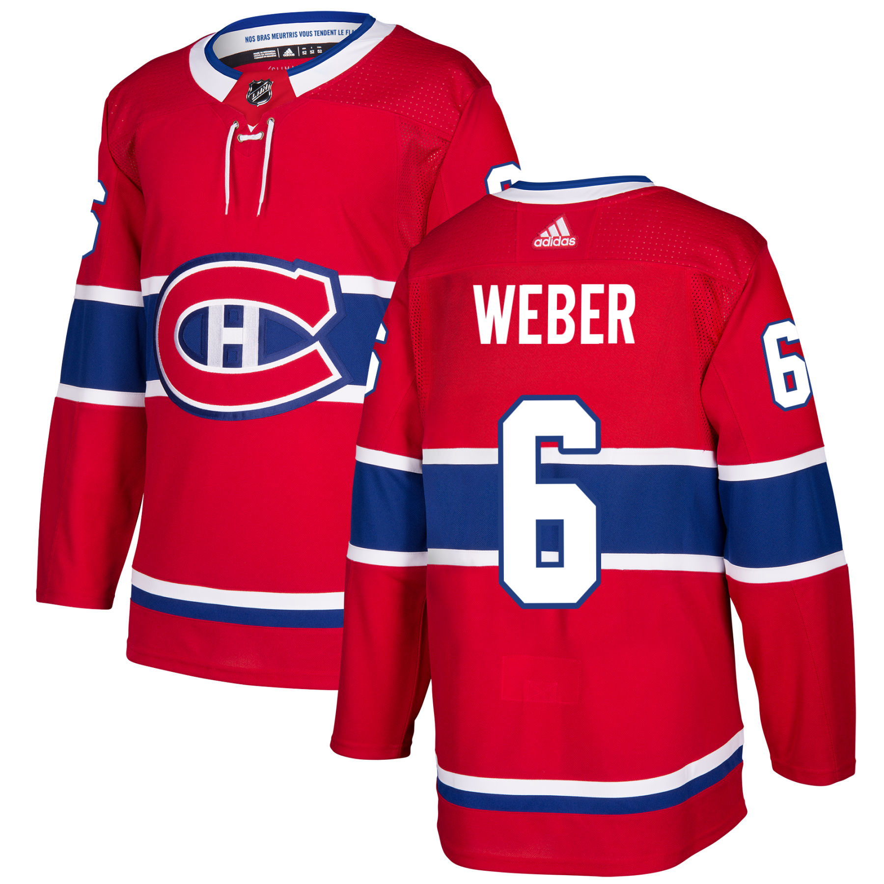 Shea Weber Montreal Canadiens adidas NHL Authentic Pro Home Jersey - Pro  Stitched df538b2ad88