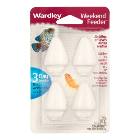 (3 Pack) Wardley Shells Weekend Feeder, 4 count