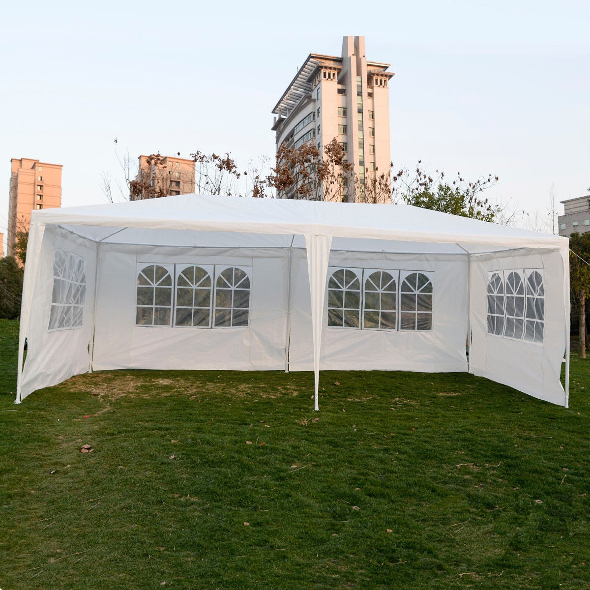 wedding party tent outdoor 10x20 easy set gazebo bbq canopy cater events white bbq wedding tent