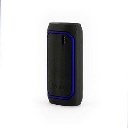 Griffin Survivor Power Bank, 6,000 mAh Rugged Portable Backup Battery Charger USB for iPhone, Smartphones, and Tablets,