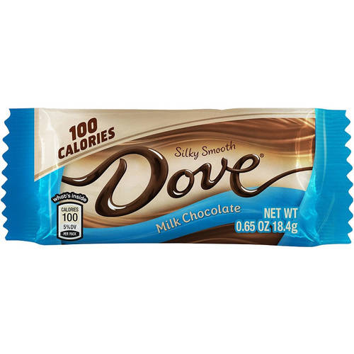 Dove Silky Smooth Milk Chocolate Candy Bars, 0.65 oz, 18 count by Mars Chocolate