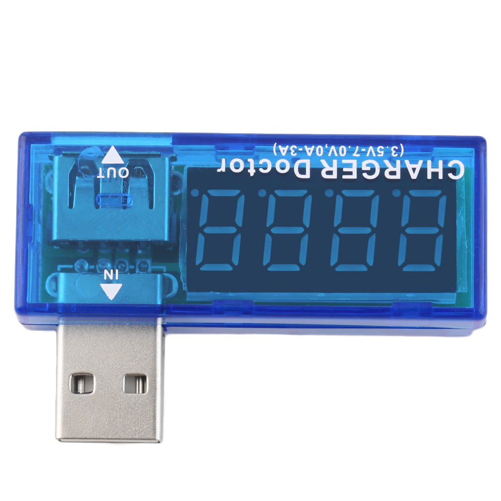 Voltage And Current Tester Christmas Promotion Usb Charger Doctor Mobile Battery Power Detector Meter