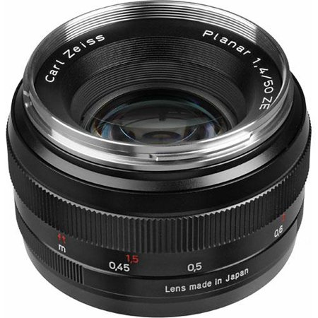 Zeiss 50mm f1.4 Planar T* ZE Lens-Canon 1677817 (Carl Zeiss Planar T 85mm F1 4)