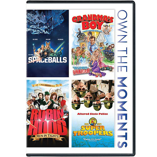 Spaceballs / Grandma's Boy / Robin Hood Men in Tights / Super Troopers (Widescreen)