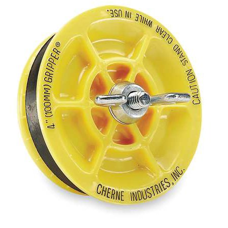 Cherne Industries 270237 Mechanical Pipe Plug, Size 3 In
