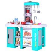 matoen Kids Kitchen Playset With All The Sights And Running Water Sounds Of Kitchen