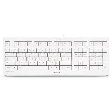 Cherry Kc 1000 Keyboard - Cable - Light Gray - Usb - English  us ... 311c3d29d1507