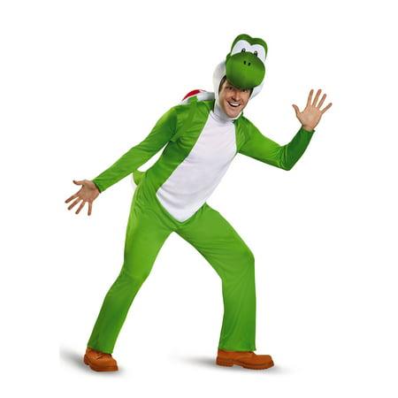 Deluxe Adult Yoshi Costume - image 2 of 2