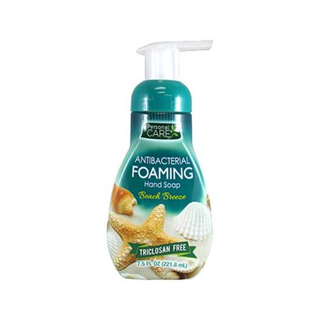 Personal Care Products 93020-9 7.5 oz. Antibacterial Foaming Hand Soap - Beach (Antibacterial Foaming Soap)