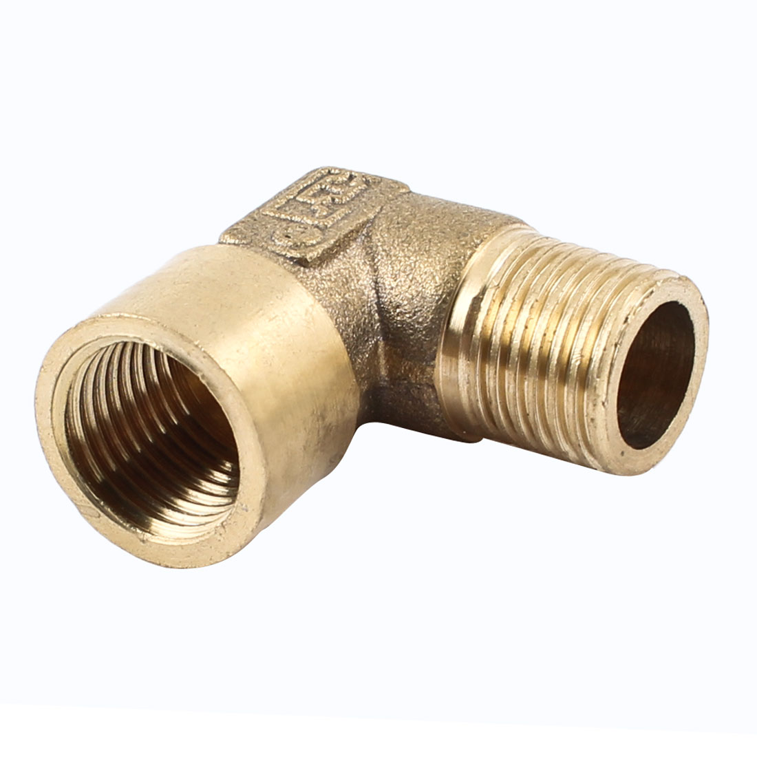 """1/4"""" PT Femle to Male F/M Equal Brass Pipe Elbow Fitting Adapter"""