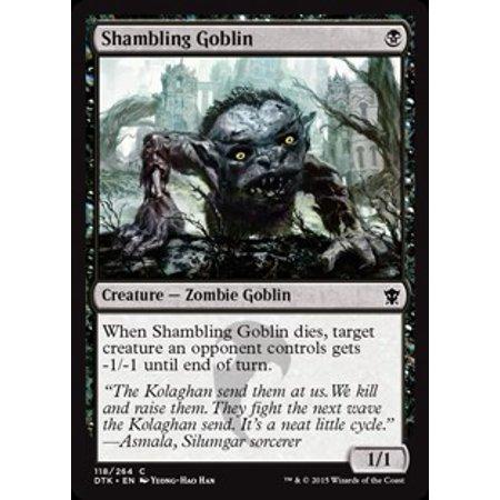 MtG Dragons of Tarkir Shambling Goblin [Foil]