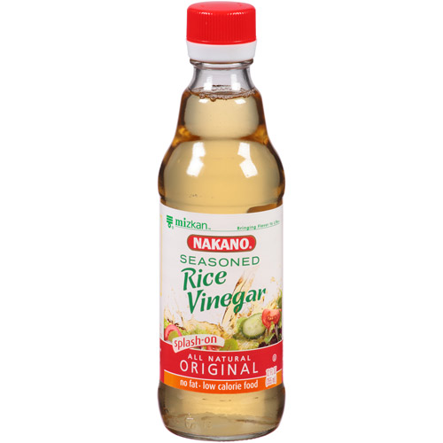 Nakano Original Seasoned Rice Vinegar, 12 fl oz, (Pack of 6)