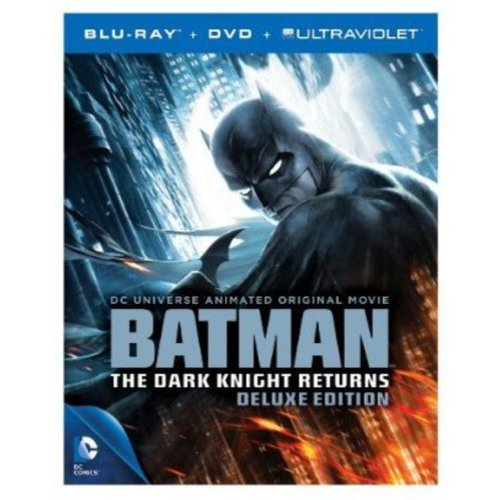 DC Universe: Batman - The Dark Knight Returns (Deluxe Edition) (Blu-ray DVD + UltraViolet) (With INSTAWATCH) (Anamorphic Widescreen)