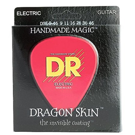 DR Strings DSE-9/46 Dragon Skin Coated Light-Medium Electric Guitar Strings Dragon Skin Coated Light