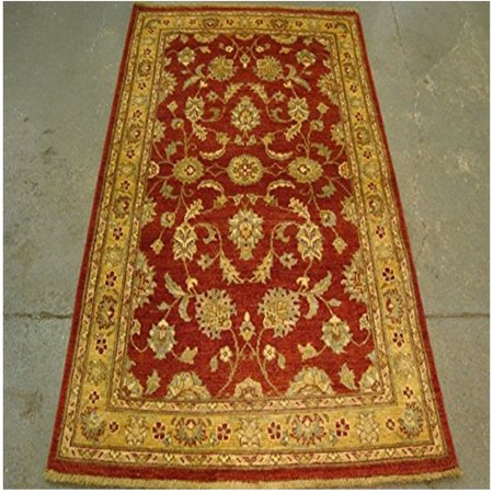 Exclusive Rare Vegetable Dyed Chobi Zeigler Mahal Area Rug Hand Knotted Wool Carpet (6.0 x (Chobi Carpet)