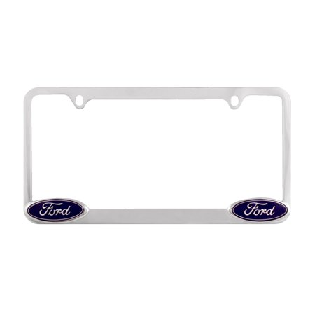 Chrome Ford License Plate Frame, Cool Silver Ford License Plate ...