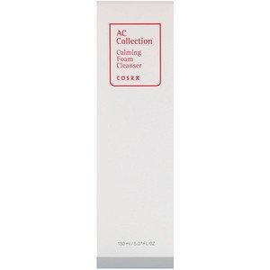 Calming Foam Cleanser - Cosrx, AC Collection, Calming Foam Cleanser, 5.07 fl oz (150 ml) (Pack of 1)