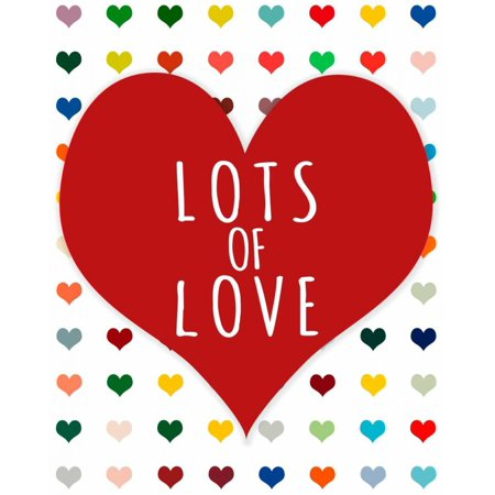 Lots of Love Poster Print by Shelley Lake