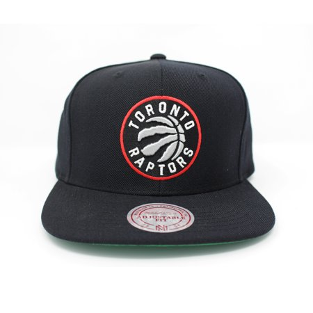 official images new york run shoes Mitchell and Ness Toronto Raptors Wool Solid Black Snapback Hat ...