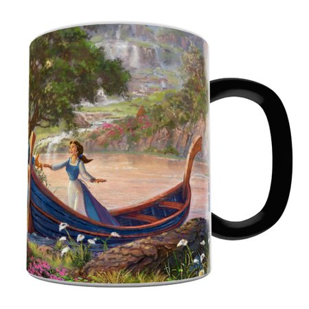 Morphing Mugs Beauty and the Beast Series II Heat-Sensitive Coffee Mug