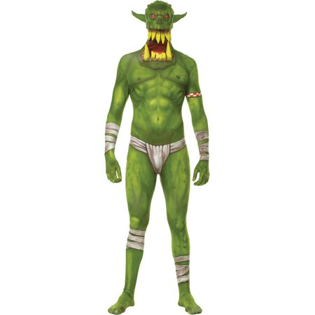 Morph Jaw Dropper Green Child Halloween Costume - Scary Morphsuit