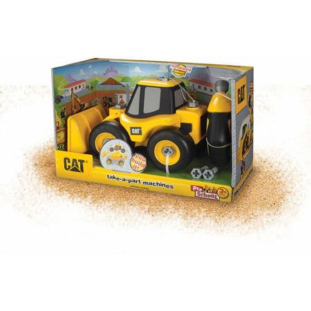 Toysmith Caterpillar Take A Part Wheel Loader, Cat
